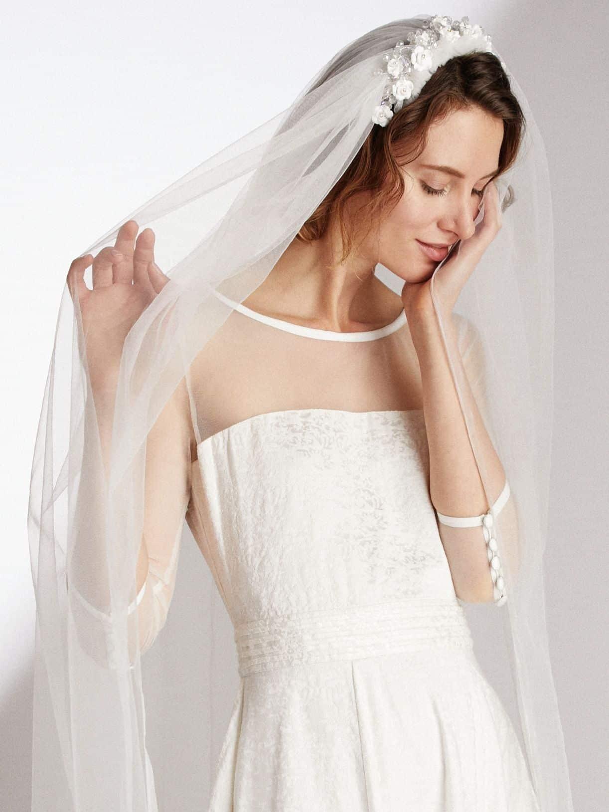 Une robe de mariée pour une femme timide
